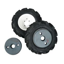 Paire de roues avec pneus...