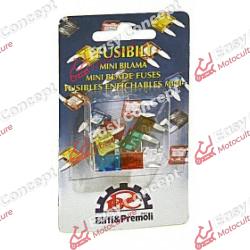 Blister de 10 mini fusibles...
