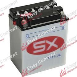 Batterie 12N14-3A + pack acide