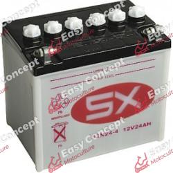 Batterie 12N24-4 + pack acide