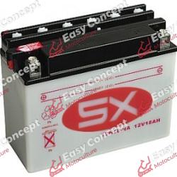 Batterie 12N18-4A avec acide