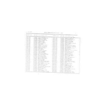 Tableau de correspondance des anciennes références Staub