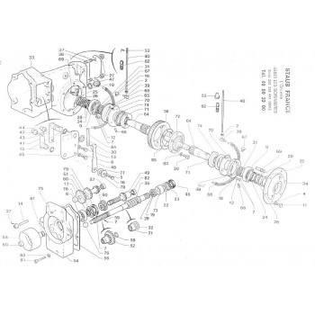 BOITE DE VITESSES MOTOCULTEUR STAUB CHALLENGER (1)